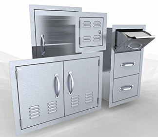 Cabinet islands :sunstonemetalproducts.com