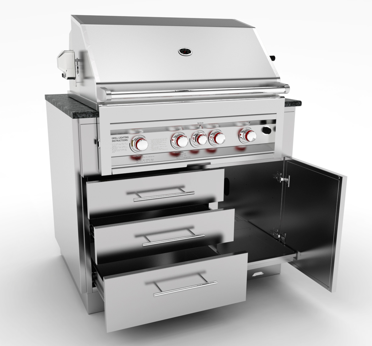 BBQ gas grills:sunstonemetalproducts.com