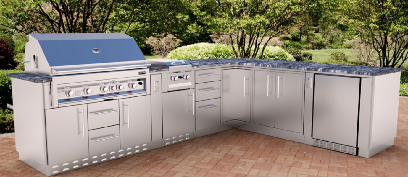 ... Stainless Steel Appliance Cabinets