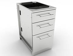 stainless steel drawer cabinets