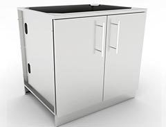 stainless steel door cabinets
