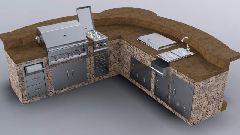 Bbq Island Design Sunstonemetalproducts Com